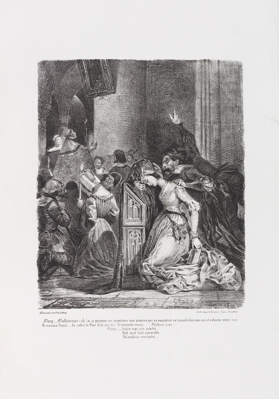 Eugène Delacroix - Faust-Illustrationen -