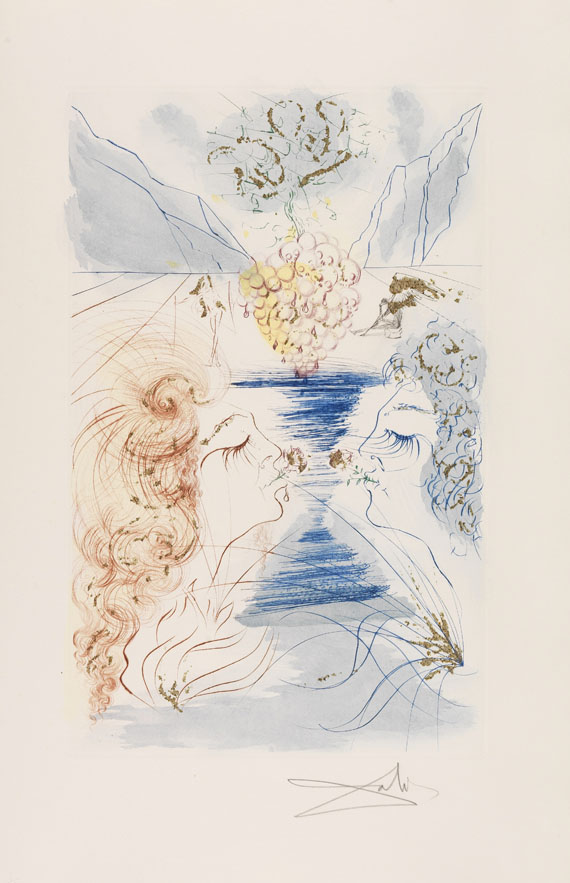 Salvador Dalí - The Song of Songs